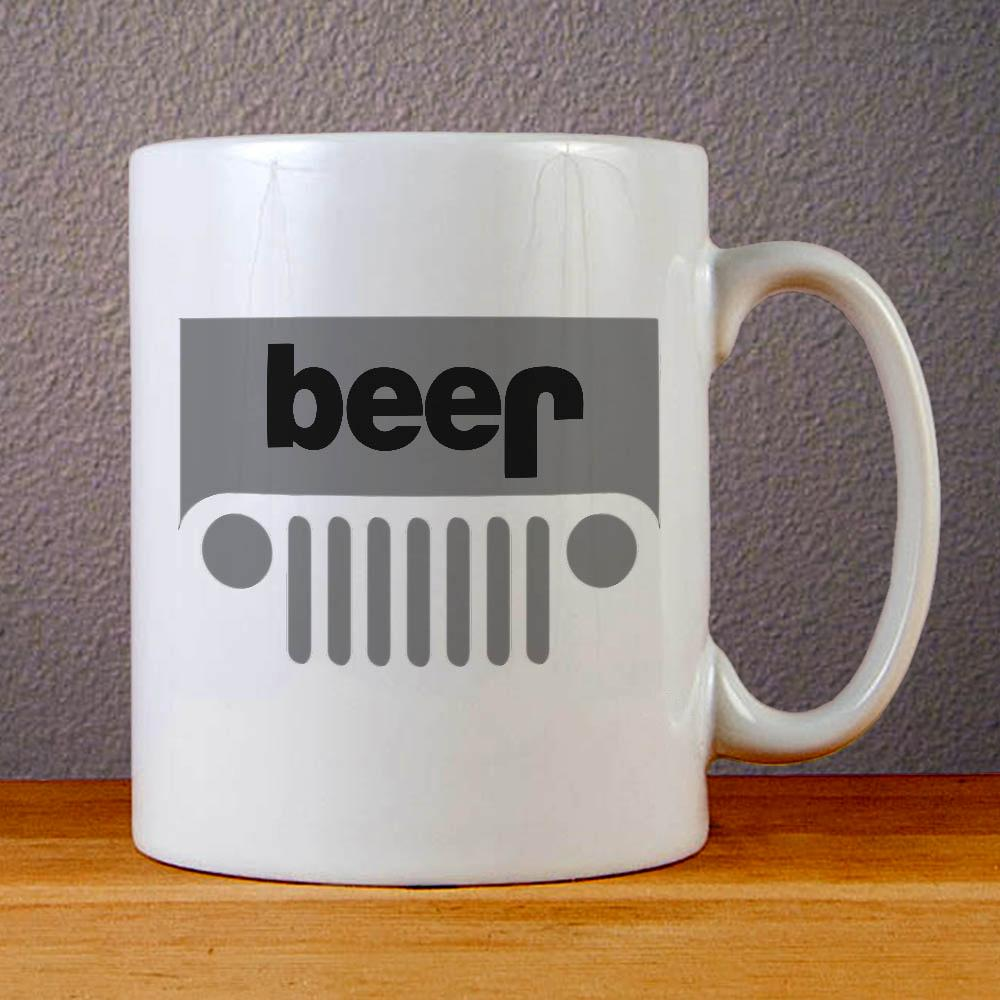 Jeep Logo Ceramic Coffee Mugs