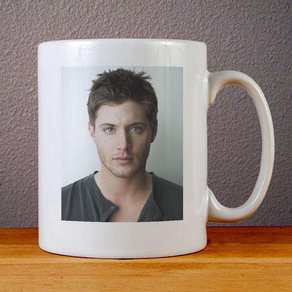 Jensen Ackles Ceramic Coffee Mugs