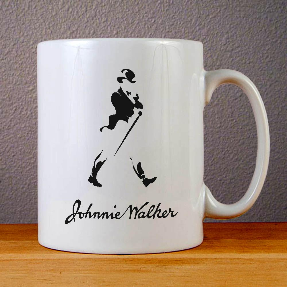 Johnnie Walker Logo Ceramic Coffee Mugs