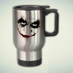 Joker Face 14oz Stainless Steel Travel Mug