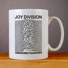 Joy Division Unknown Pleasures Ceramic Coffee Mugs