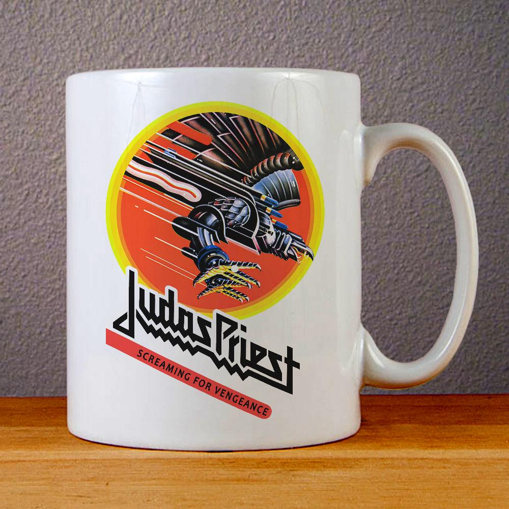Judas Priest Screaming for Vengeance Ceramic Coffee Mugs