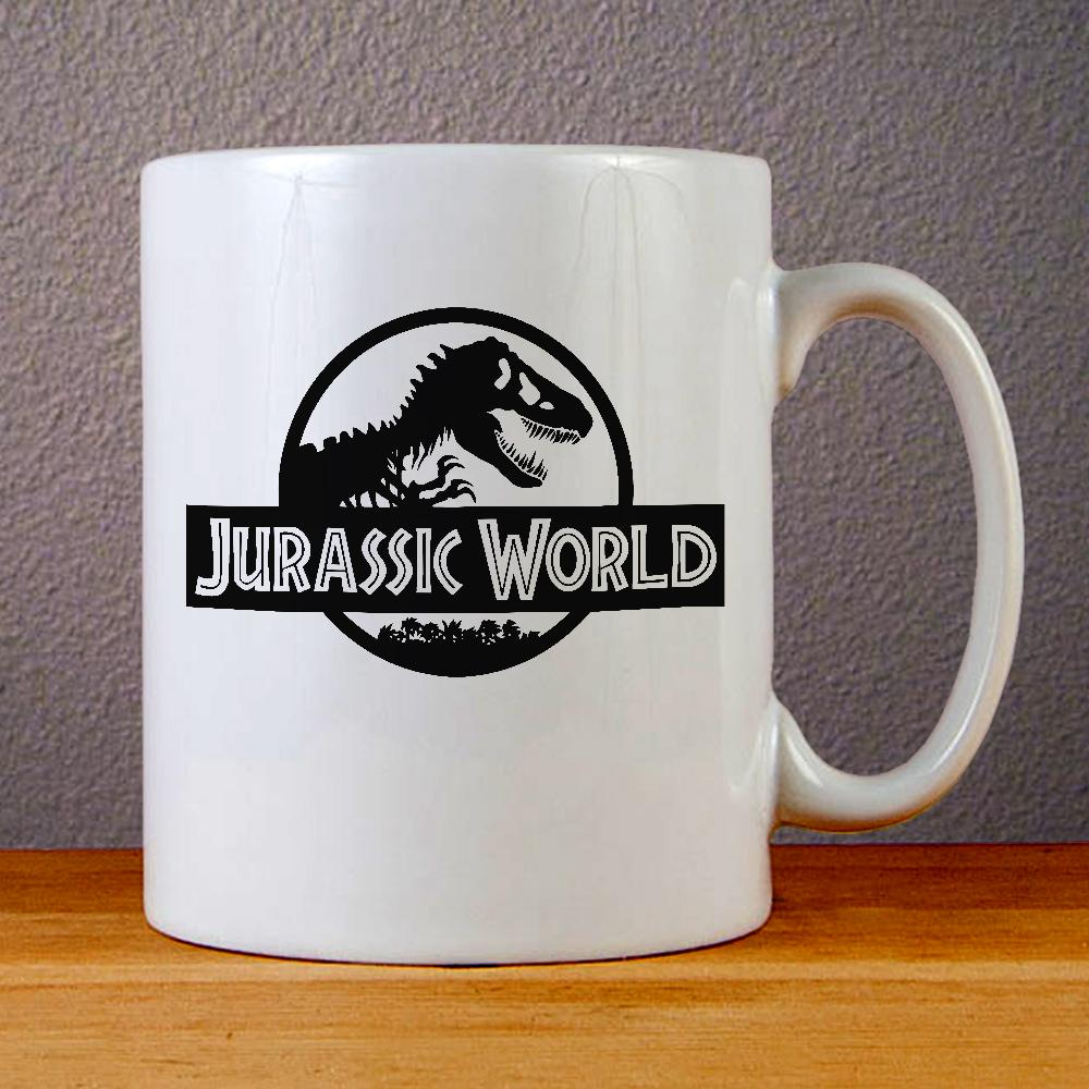 Jurassic World Logo Ceramic Coffee Mugs