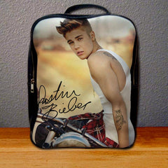 Justin Bieber Sexy Backpack for Student