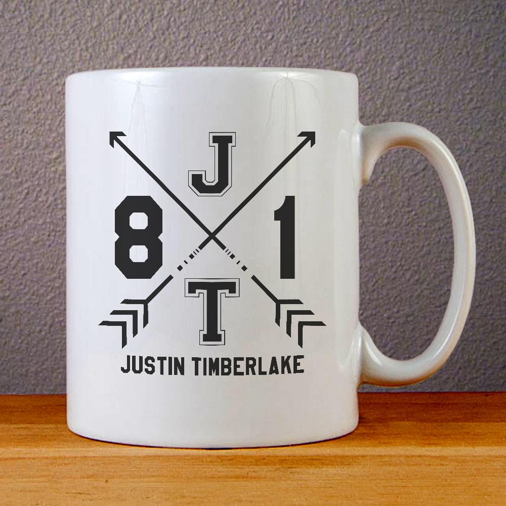 Justin Timberlake Man of The Woods Tour Ceramic Coffee Mugs
