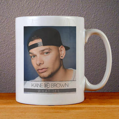 Kane Brown What Ifs Ceramic Coffee Mugs