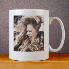 Kelly Clarkson Meaning of Life Ceramic Coffee Mugs