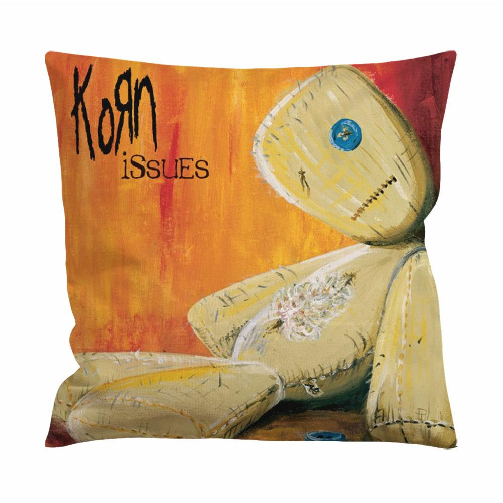Korn Issues Cushion Case / Pillow Case
