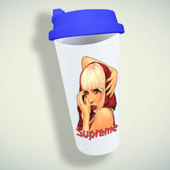 Lady Gaga Supreme Double Wall Plastic Mug