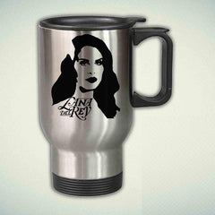 Lana Del Rey Art 14oz Stainless Steel Travel Mug