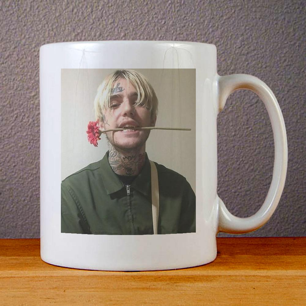 Lil Peep Flower Ceramic Coffee Mugs