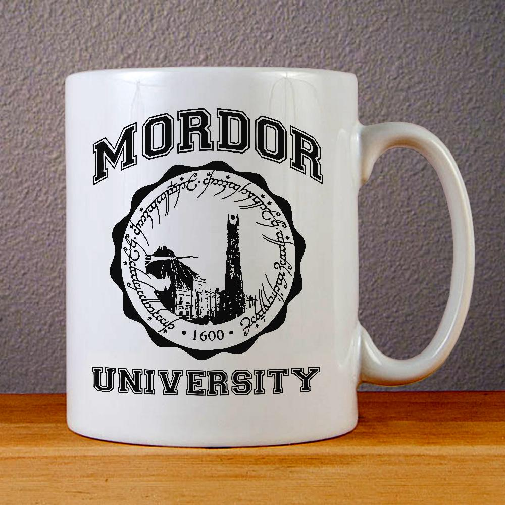 Lord of The Rings Mordor University Ceramic Coffee Mugs