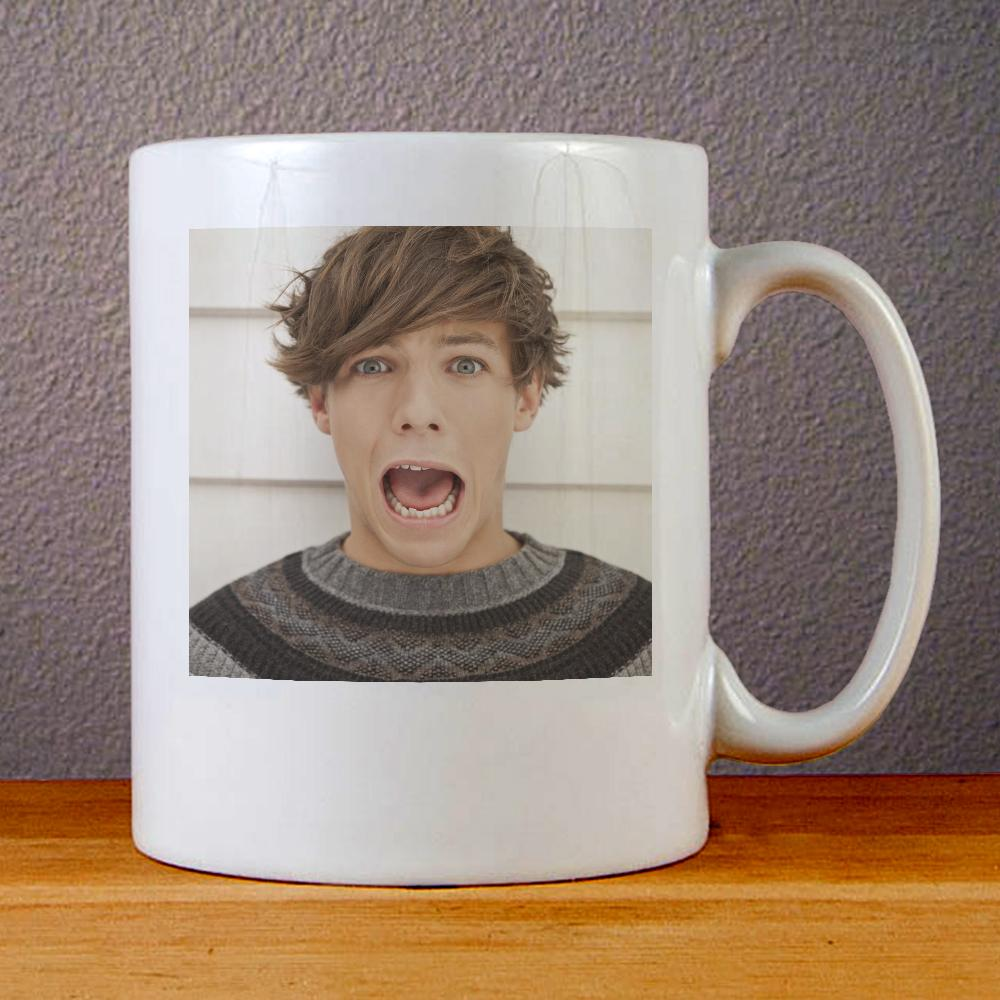 Louis Tomlinson One Direction Ceramic Coffee Mugs