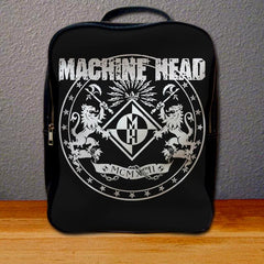 Machine Head Crest Backpack for Student