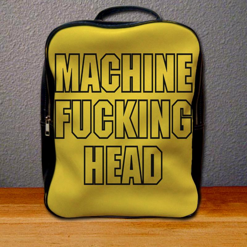 Machine Head Patch Backpack for Student