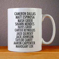 Magcon Boys Ceramic Coffee Mugs