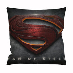 Man Of Steel Logo Cushion Case / Pillow Case