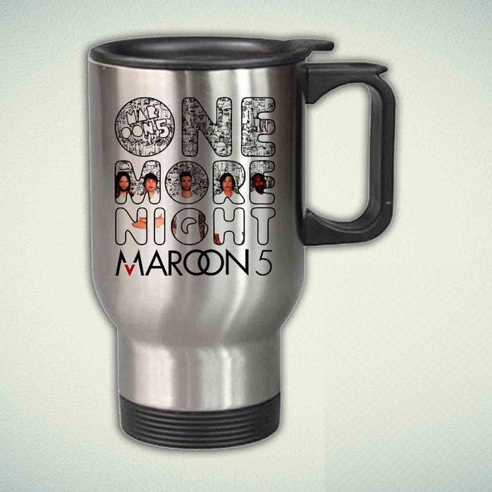 Maroon 5, One More Night 14oz Stainless Steel Travel Mug