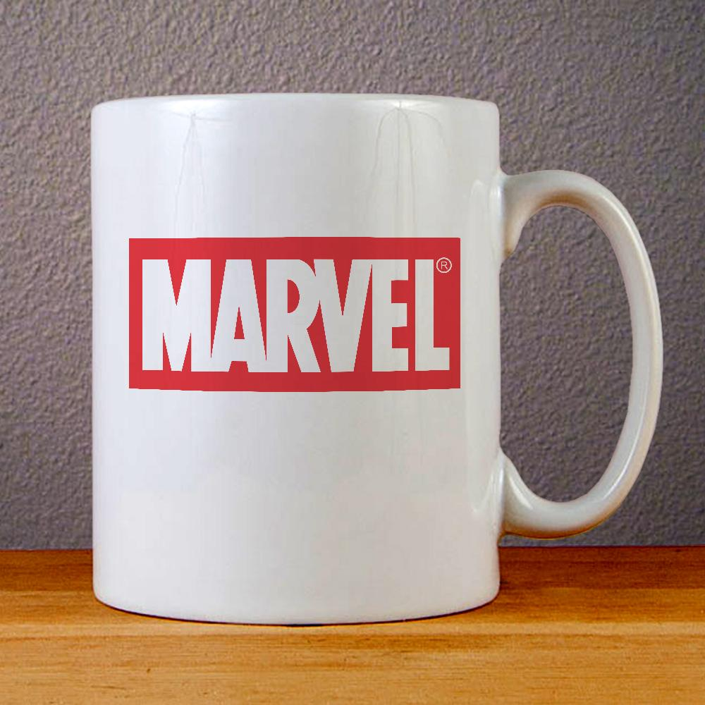 Marvel Logo Ceramic Coffee Mugs