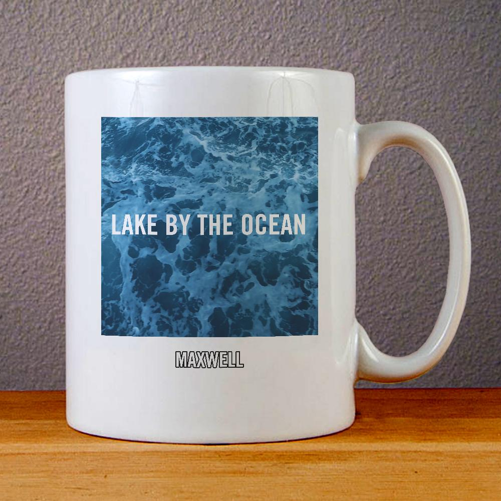Maxwell Lake by The Ocean Ceramic Coffee Mugs