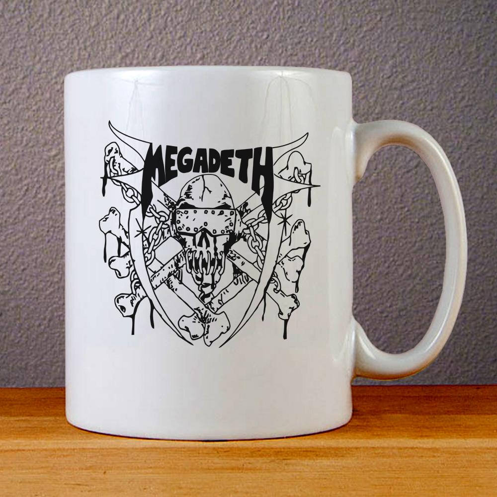 Megadeth Last Rites Ceramic Coffee Mugs