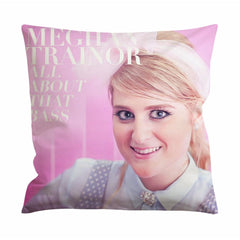 Meghan Trainor All About That Bass Cushion Case / Pillow Case