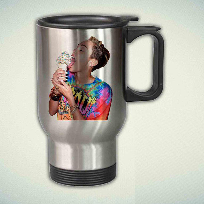 Miley Cyrus Style 14oz Stainless Steel Travel Mug