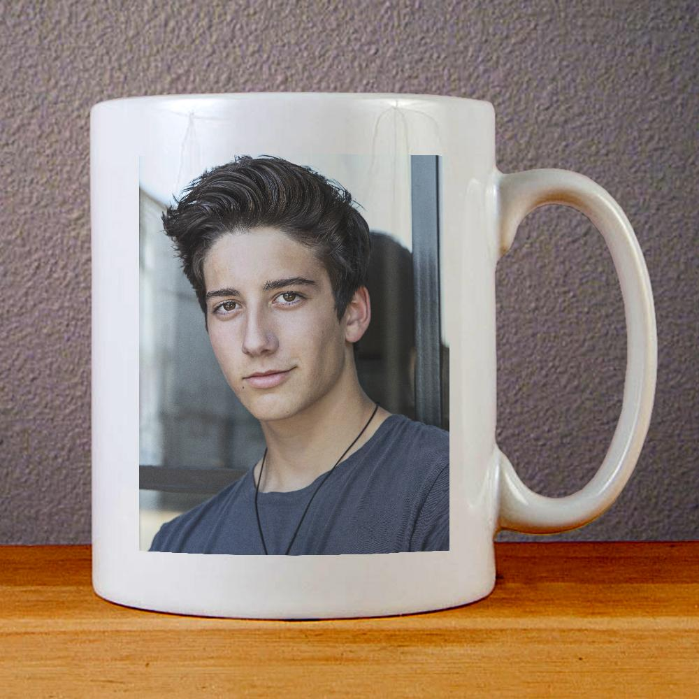 Milo Manheim Smile Ceramic Coffee Mugs