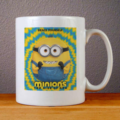 Minions The Rise of Gru Poster Ceramic Coffee Mugs