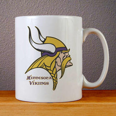 Minnesota Vikings Logo Ceramic Coffee Mugs