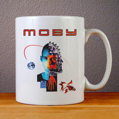 Moby Album Cover Ceramic Coffee Mugs