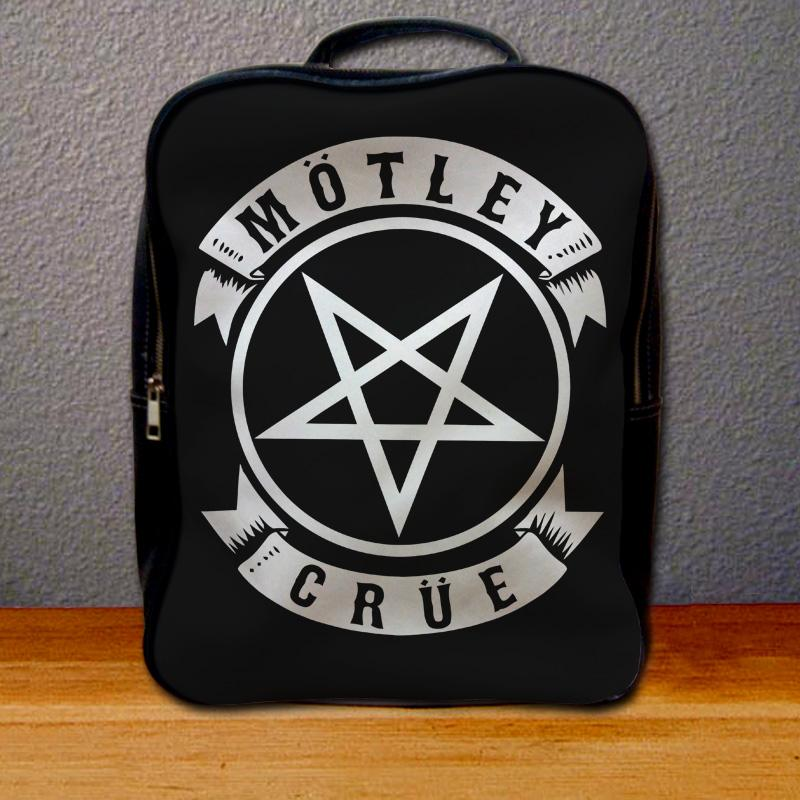 Motley Crue Pentagram Logo Backpack for Student