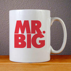 Mr Big Logo Ceramic Coffee Mugs