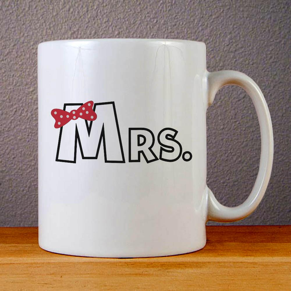 Mrs Ceramic Coffee Mugs