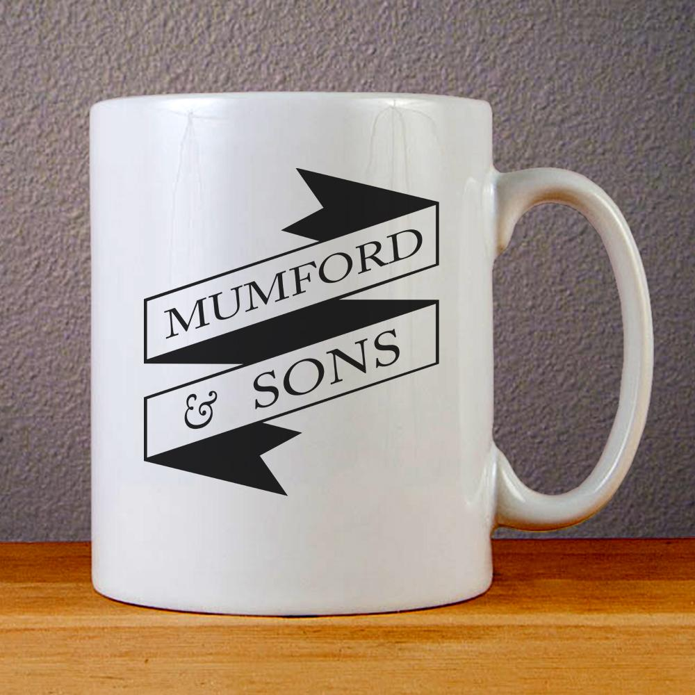 Mumford and Sons Ceramic Coffee Mugs