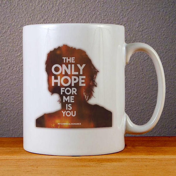 My Chemical Romance The Only Hope for Me is You Ceramic Coffee Mugs