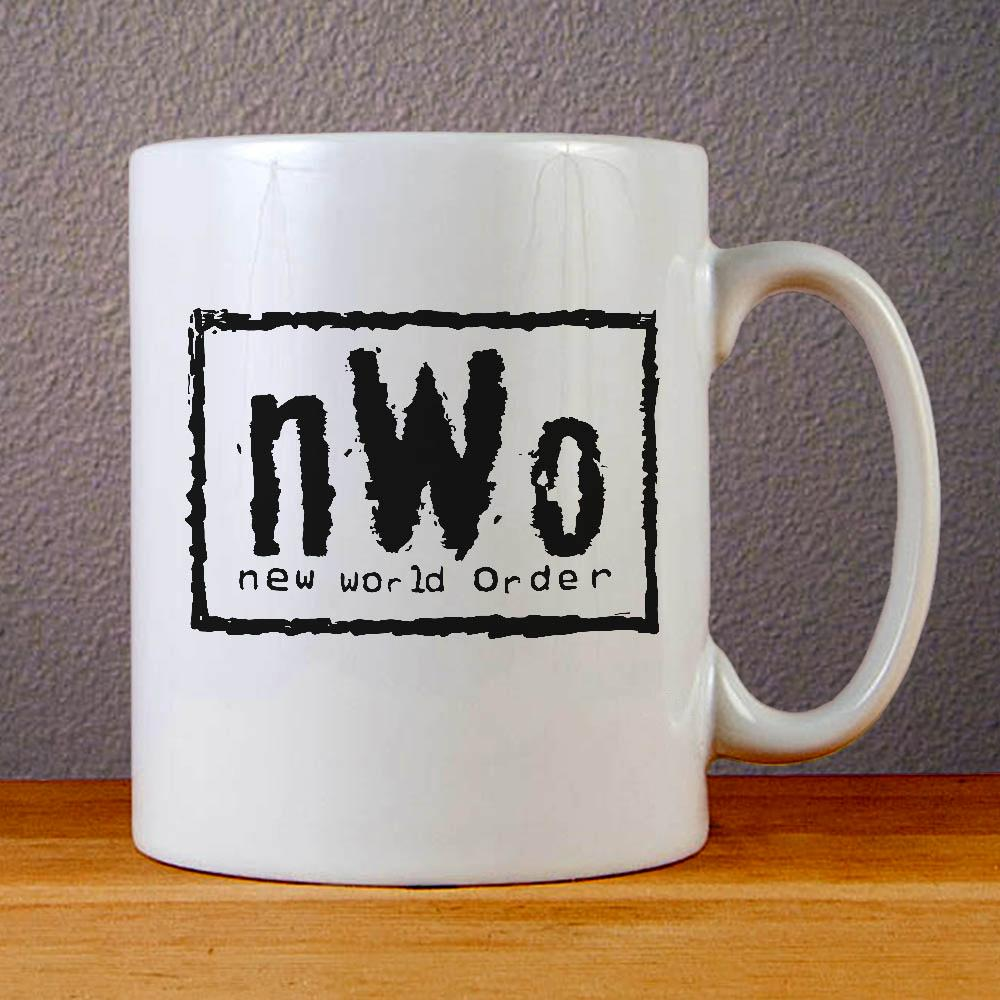 NWO Logo New World Order Ceramic Coffee Mugs