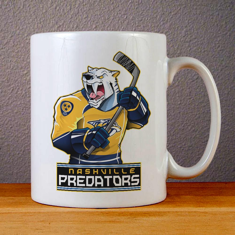 Nashville Predators Logo Ceramic Coffee Mugs