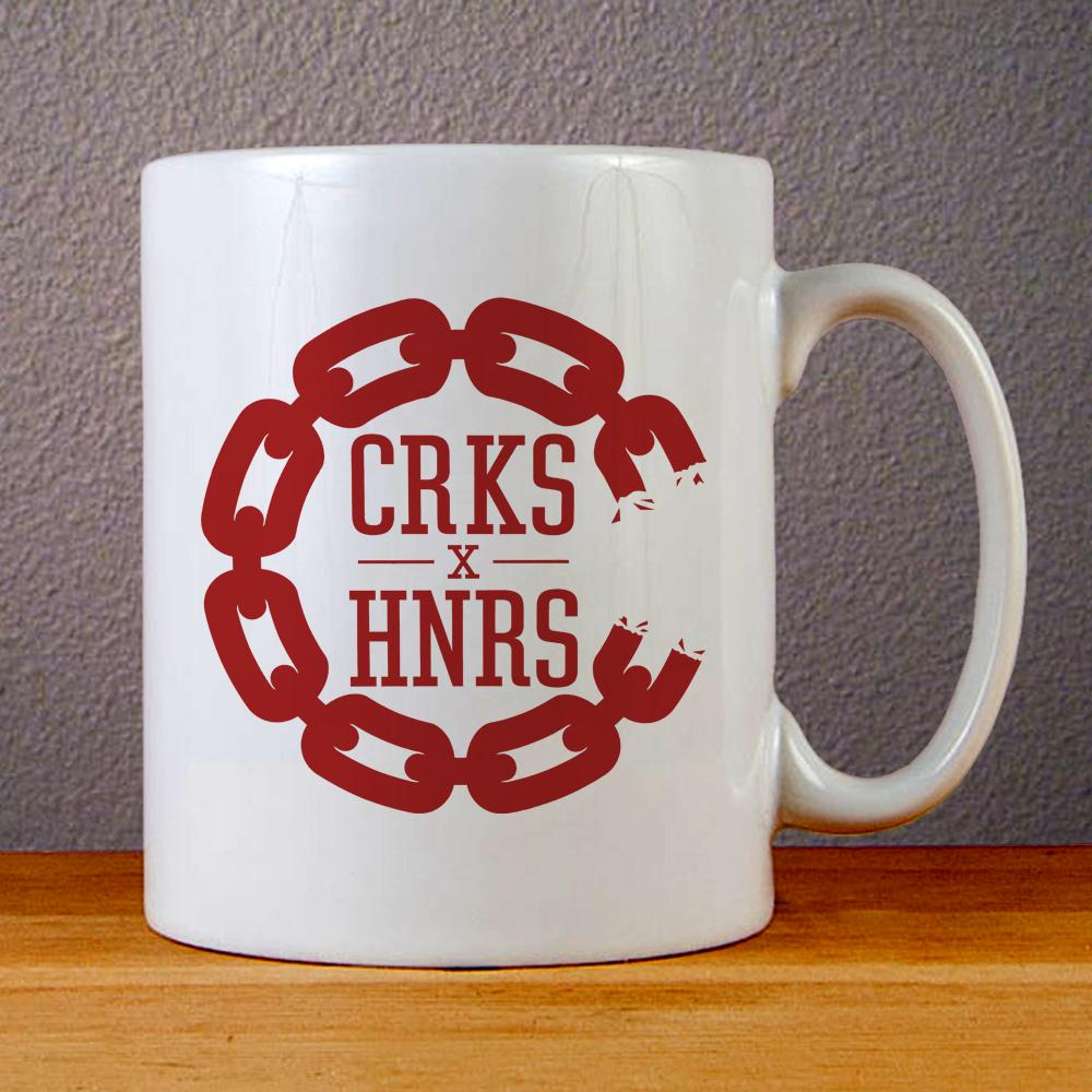 New Crooks and Castle Logo Ceramic Coffee Mugs