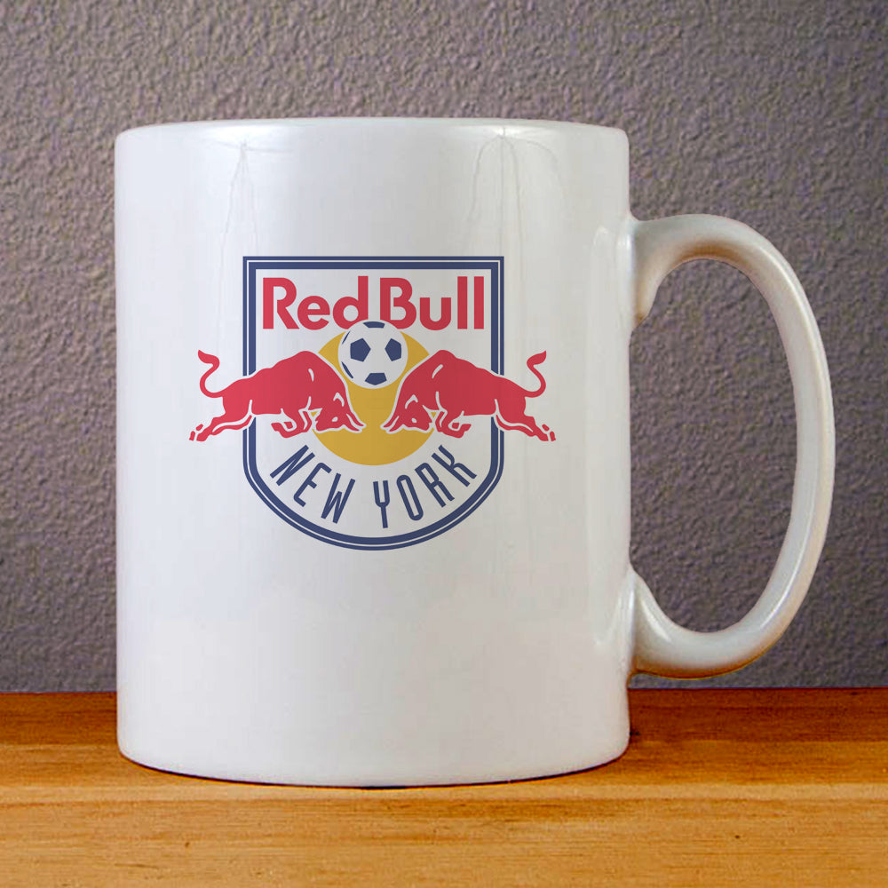 New York Red Bulls Logo Ceramic Coffee Mugs