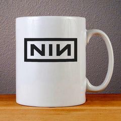 Nine Inch Nails Band Logo Ceramic Coffee Mugs