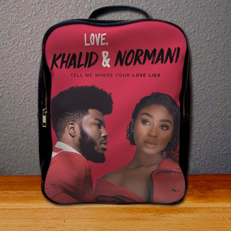 Normani Kordei and Khalid Love Lies Backpack for Student