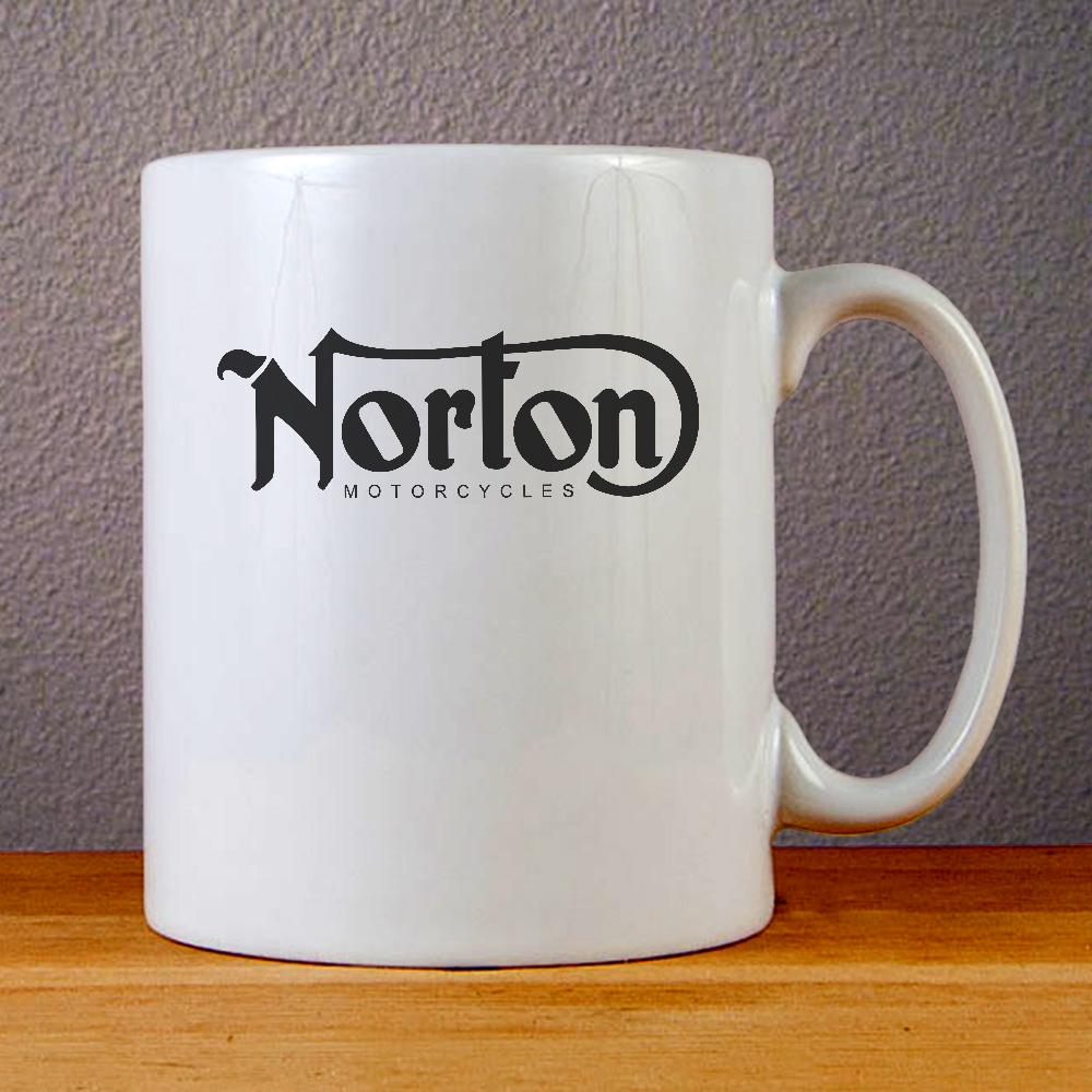 Norton Motorcycles Logo Ceramic Coffee Mugs