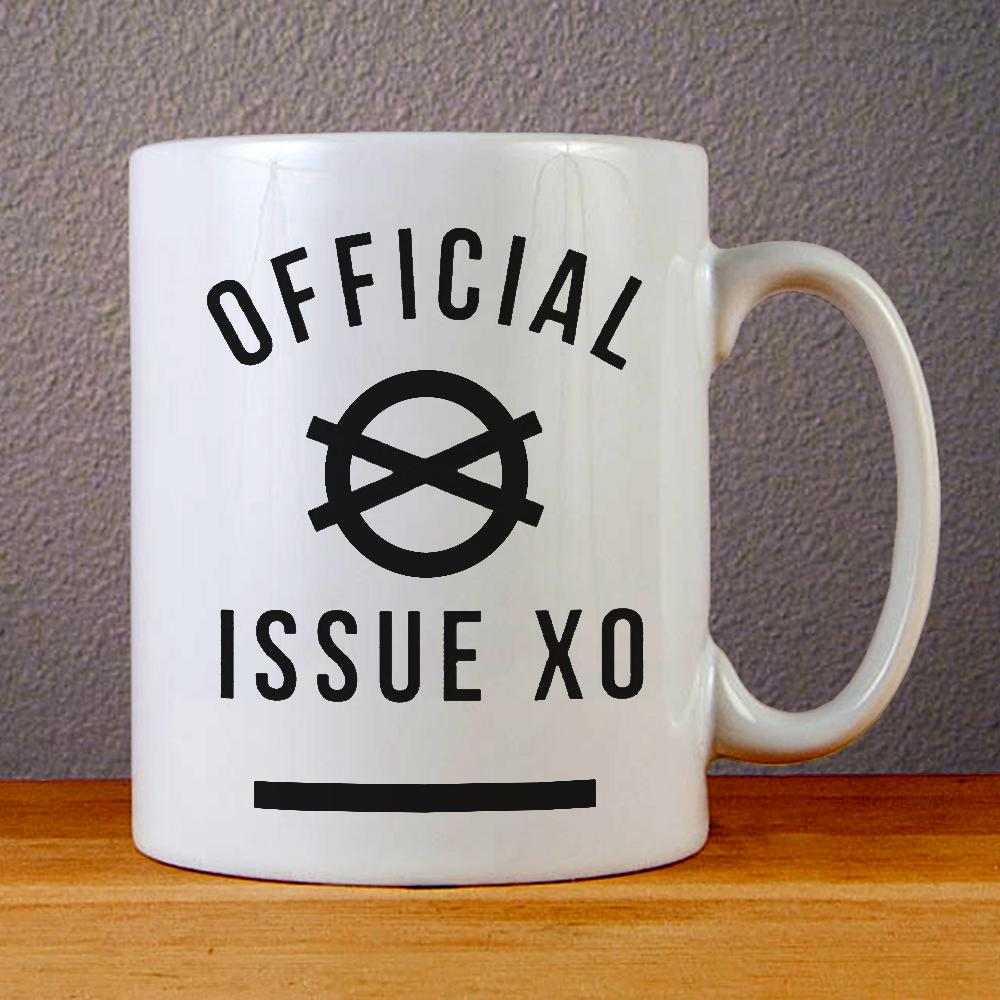 Official Issue XO Logo Ceramic Coffee Mugs