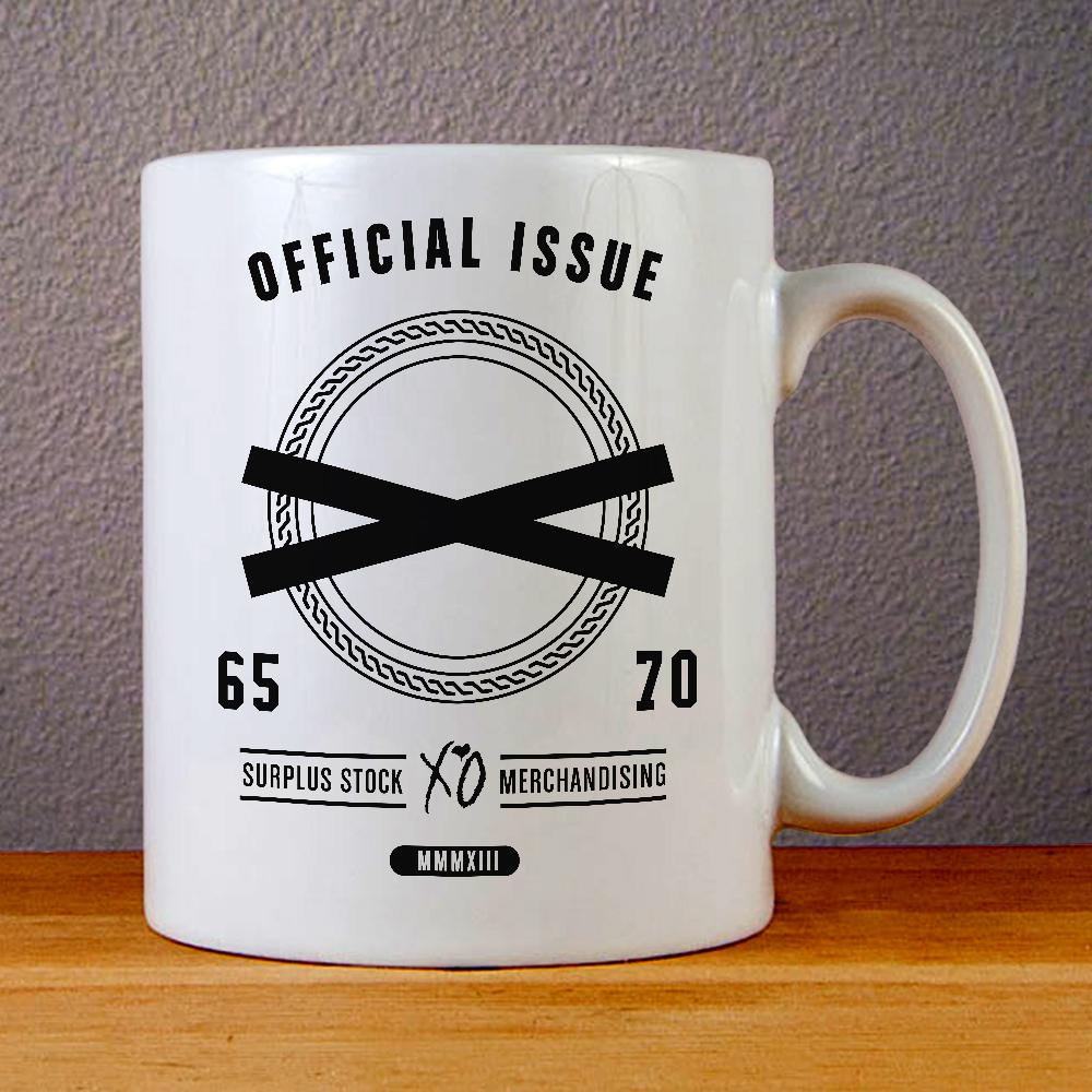 Official Issue XO The Weeknd Ceramic Coffee Mugs