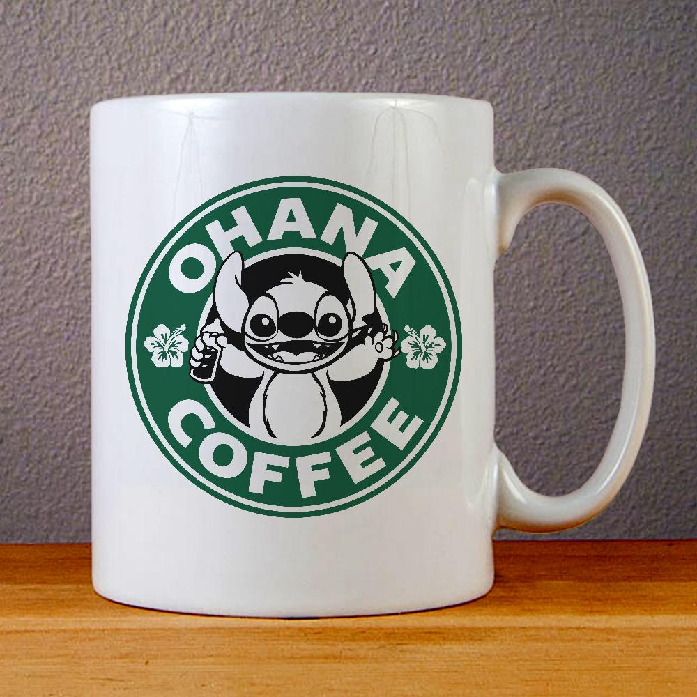 Ohana Coffee Ceramic Coffee Mugs