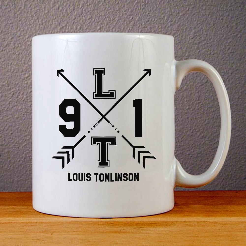 One Direction Louis Tomlinson 1D Ceramic Coffee Mugs