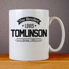One Direction Louis Tomlinson Ceramic Coffee Mugs
