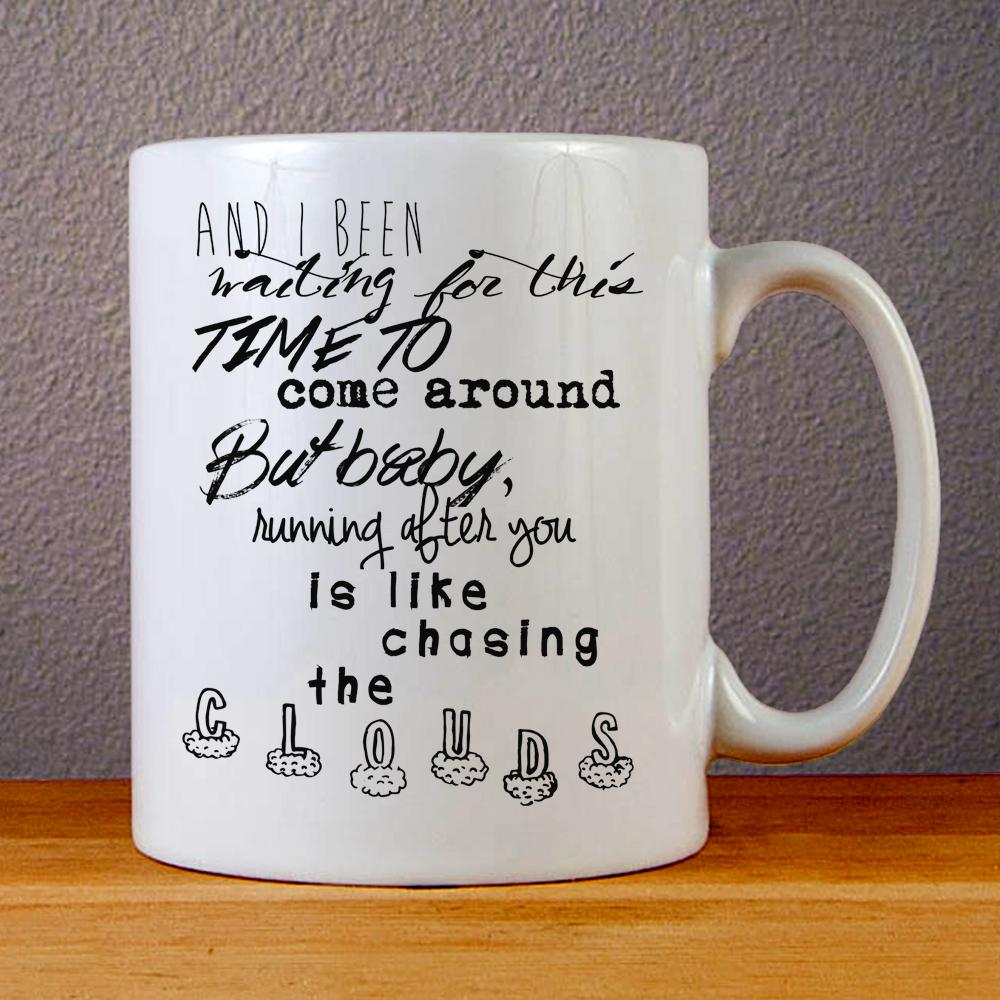 One Direction Song Ceramic Coffee Mugs