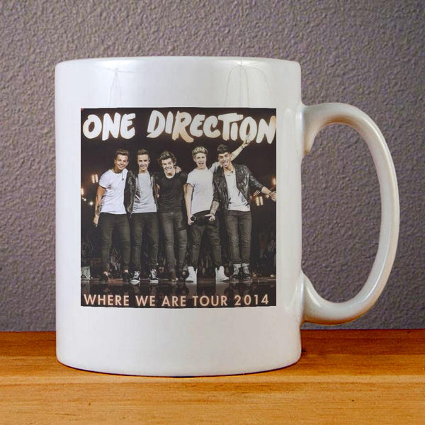 One Direction Where We Tour 2014 Ceramic Coffee Mugs